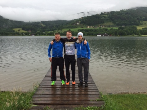 David, Rene Bauer (4. Gesamt und AK Sieger), Patrick